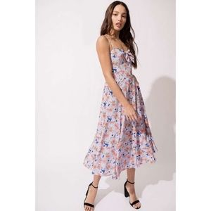 Yumi Kim Buttercup Bouquet Pretty Woman Dress Midi